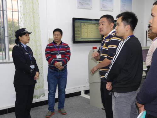 司法部预防犯罪研究所到省女子监狱开展原生艺术疗法调研