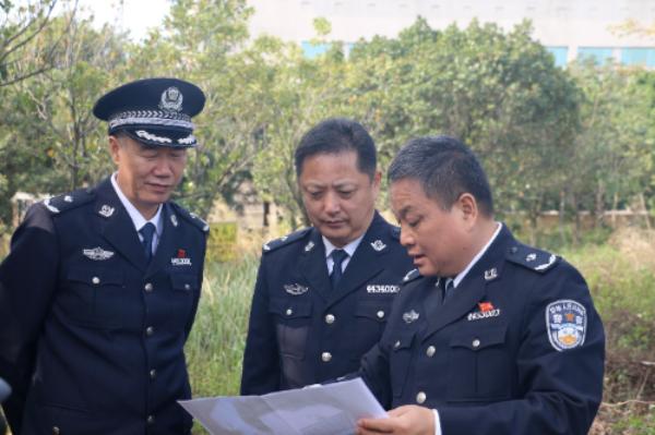 市司法局任继光副局长带队到深圳监狱督导安全生产工作